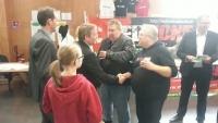 Avec Laurent Lenoir, rencontre avec les responsables MC Red Zone