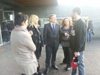 Rencontre avec les responsables de Kla district de Calais