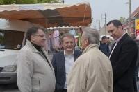 avec les militants du MRC de Calais