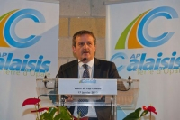 Voeux du Président de Cap Calaisis, Philippe Blet
