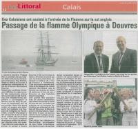 Passage de la flamme olympique à douvres