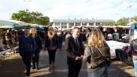 Sur le marché du Beau Marais à Calais