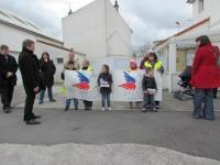Avec le Secours Populaire de Calais
