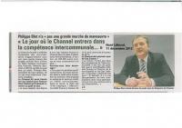 le Channel partenaire de Cap Calaisis ?