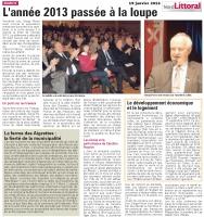 Voeux 2014 de Serge Peron, Maire de Marck en Calaisis
