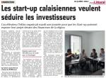 Les start-up calaisiennes veulent séduire les investisseurs