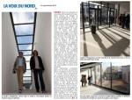 Visite de chantier de la future Ecole d'Art du Calaisis