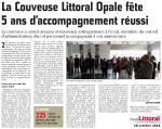 Les 5 ans de la Couveuse d'Entreprise du Calaisis