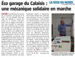 Eco-garage solidaire à Calais