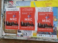 Campagne d'affichage du MRC Calais