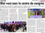 Voeux 2015 de la Communauté d'Agglomération Cap Calaisis