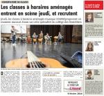 Au Conservatoire de Cap Calaisis