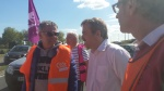 Soutien des agents du Centre Hospitalier de Calais 21 mai 2015