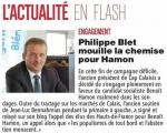 Philippe BLET soutient Benoit HAMON