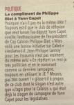 Les compliments de Philippe Blet à Yann Capet